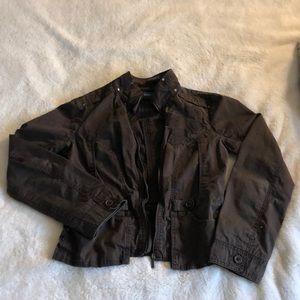 Brown jean-like jacket